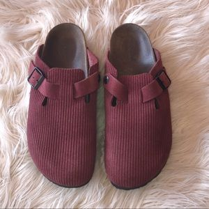 Birkenstock slip on shoes